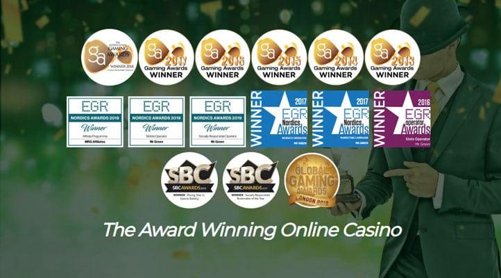 mr green the Award Winning Online Casino