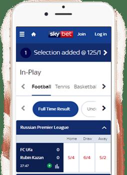 Skybet mobile app bonus