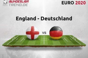 England vs. Tyskland Tipsprognose og kvoter 29.06.2021